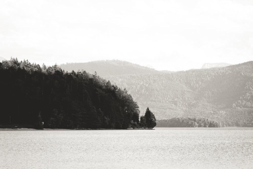 a lake in bavaria, germany